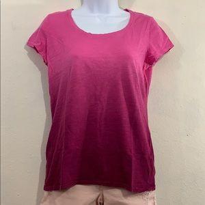 🦇3 for $20🦇 St. John's Bay pink ombré t-shirt